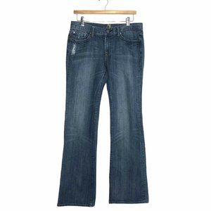 """7 for All Mankind Size 31 Flare Jeans 32"""" Inseam"""